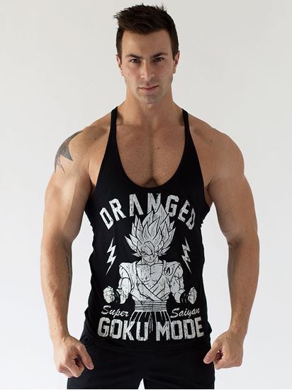 Picture of Goku Mode Singlet Winter 2015 100% Combed Cotton