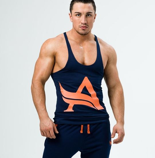 Picture of STRINGER NAVY/ORANGE