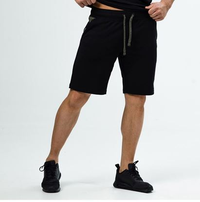 Picture of SHORTS BLACK/GREEN