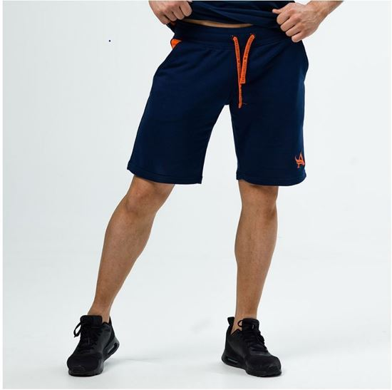 Picture of SHORTS NAVY/ORANGE