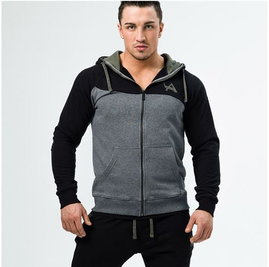Picture of HOODIE ANTHRACITE/BLACK
